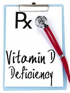 vitamin d deficiency text write on prescription