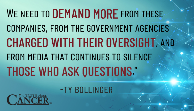 ty bollinger quote government agencies