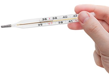 Healthy people maintain a constant body temperature around 98.6°F or 37°C