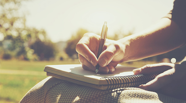 Journaling is an easy way to begin a new month of value-aligned focus on Aloha Intention.