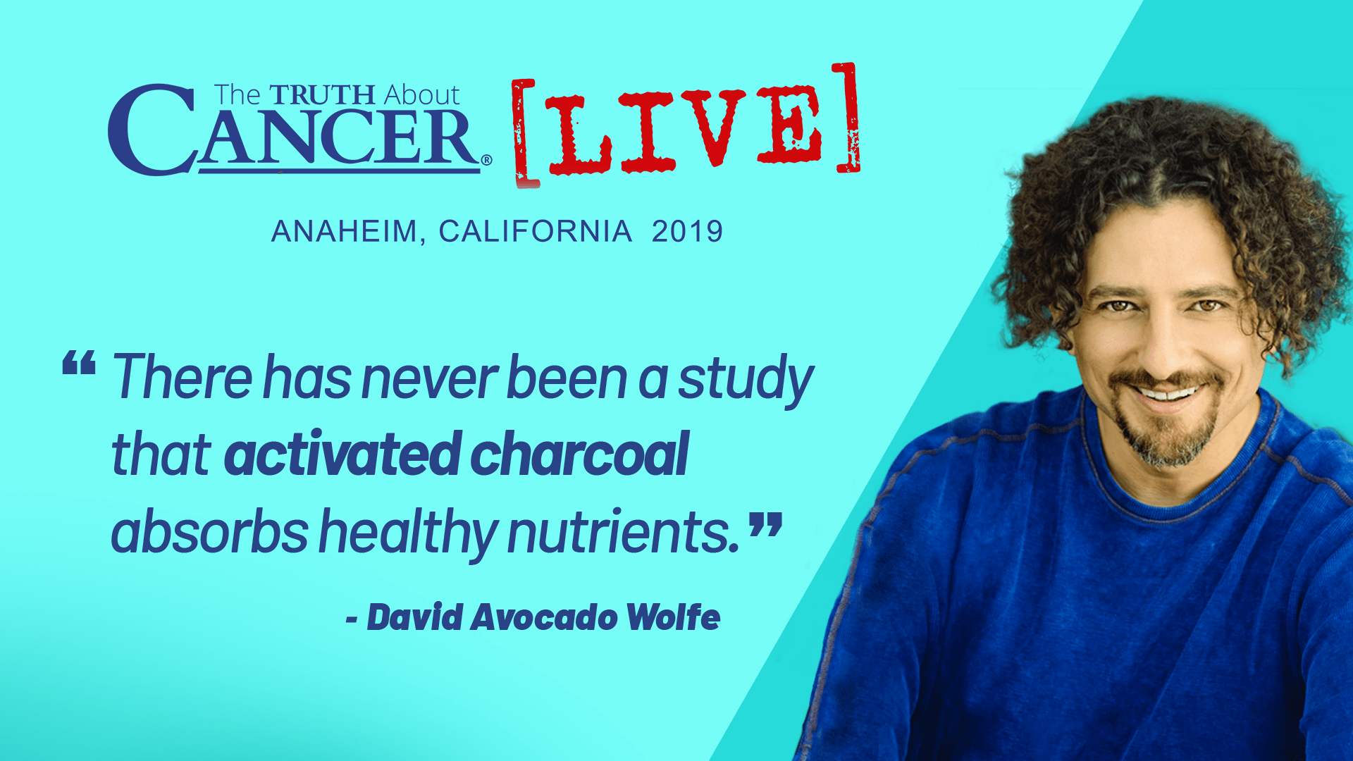 David Avocado Wolfe on Activated Charcoal