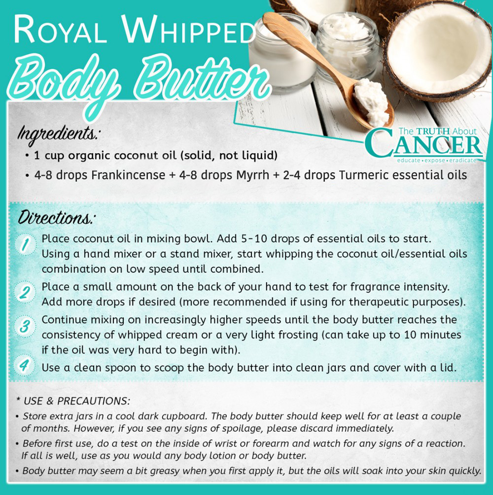 royal whipped body butter recipe
