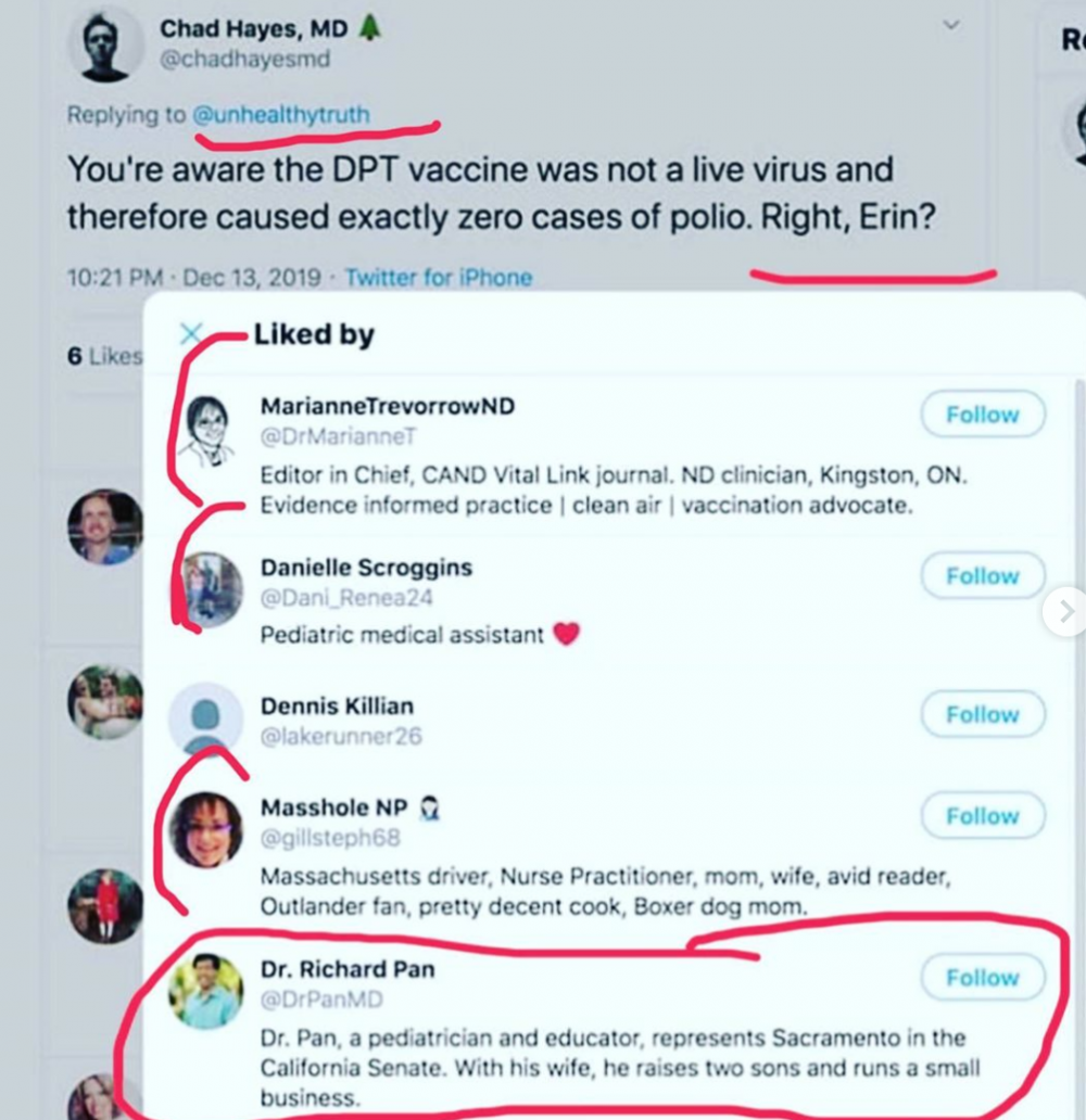 Erin Elizabeth Twitter Screenshots