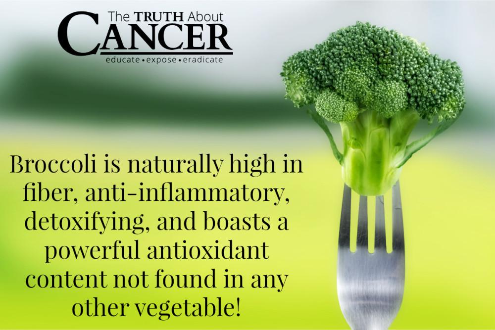 Anti-inflammatory broccoli