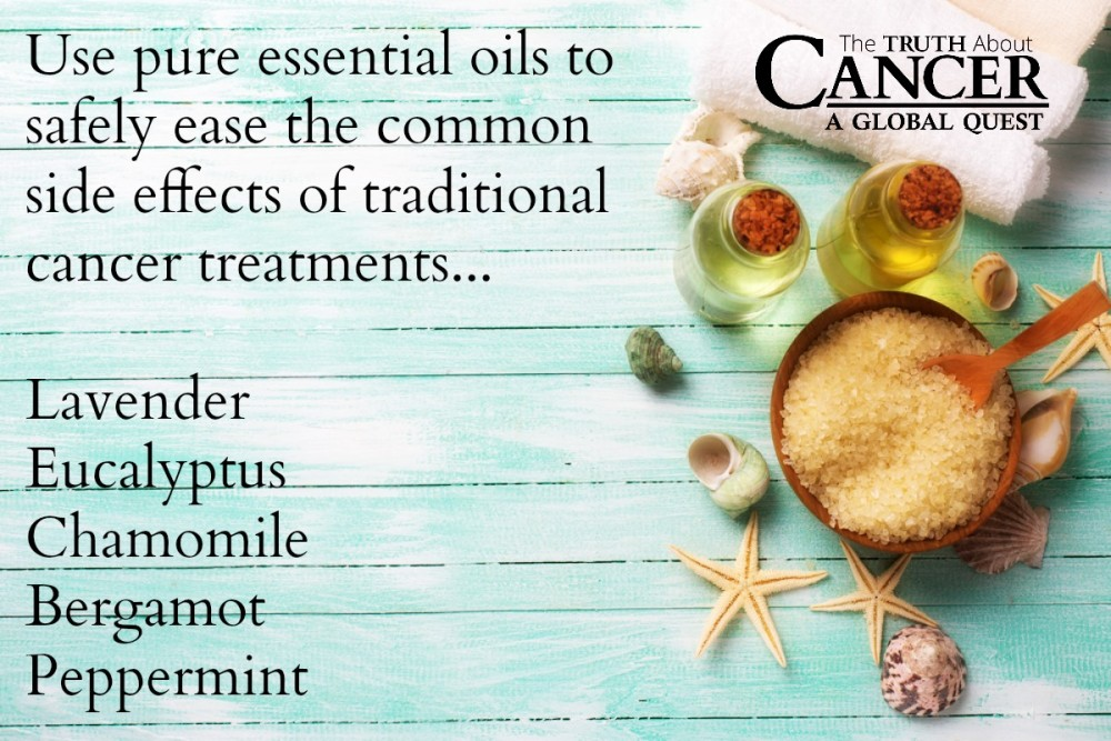 Essential Oils-Aromatherapy-Cancer
