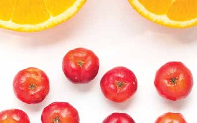 acerola cherry for graceful aging